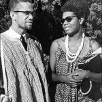 image of Malcolm X and Maya Angelou